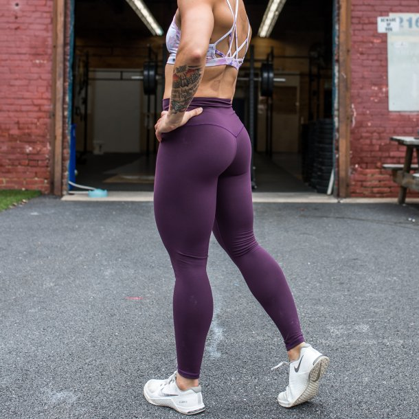 Lift Yourself Up 7/8 Leggings (Plum)