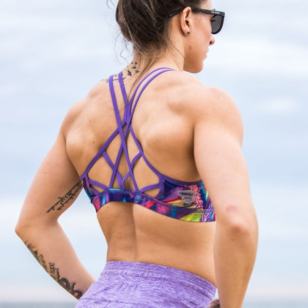 Warrior Sports Bra (Havana Nights)