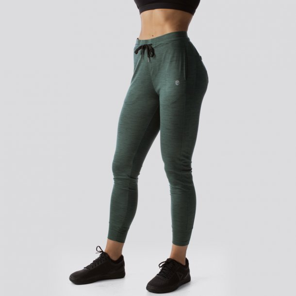 Female Rest Day Athleisure Joggers (Evergreen)