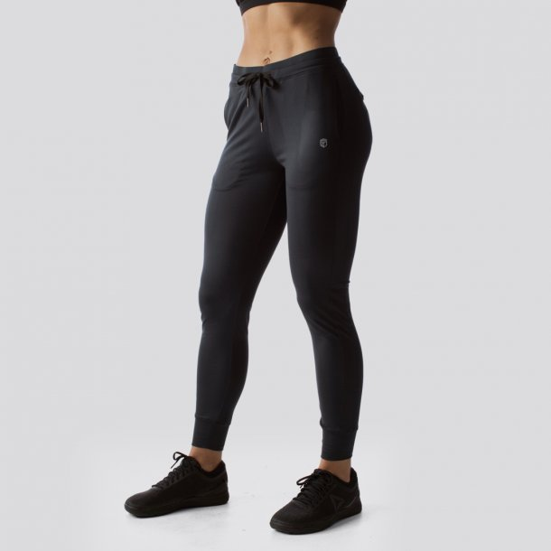 Female Rest Day Athleisure Joggers (Black)