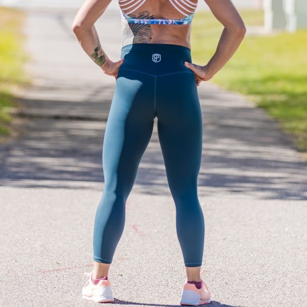 Your Go To Leggings (Deep Teal)