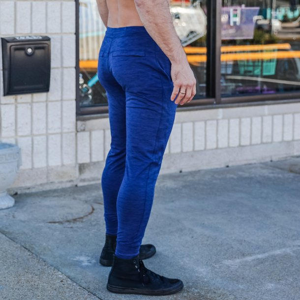 Male Rest Day Athleisure Joggers (Navy Blue)