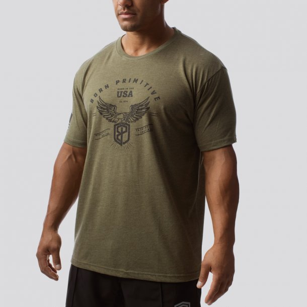 The Freedom T-Shirt (Military Green)