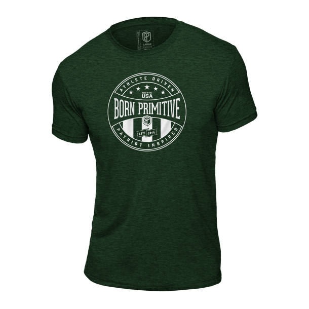 Athlete Driven T-Shirt (Heather Forest Green)