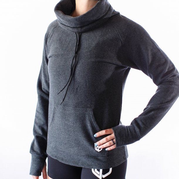 Cowl at the Full Moon Sweatshirt (Charcoal)