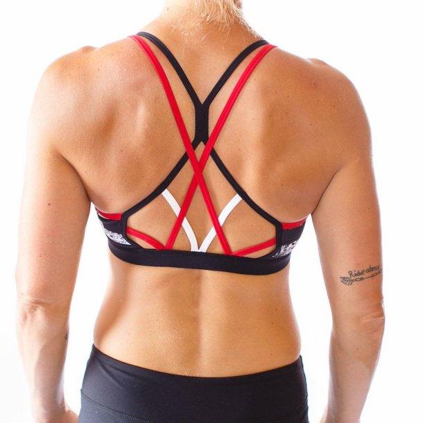 Warrior Sports Bra (Thin Red Line Fire Edition)