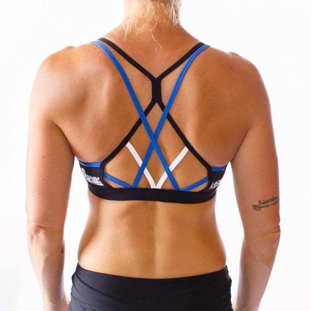 Warrior Sports Bra (Thin Blue Line Police Edition)