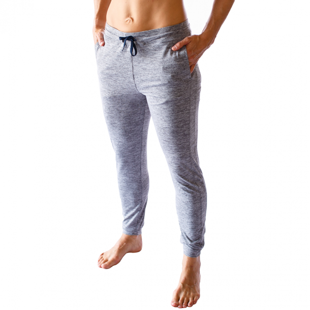Female Rest Day Athleisure Joggers (Heather Grey)