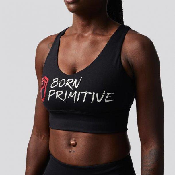 X-Factor Sports Bra (Brand Strength - Black)