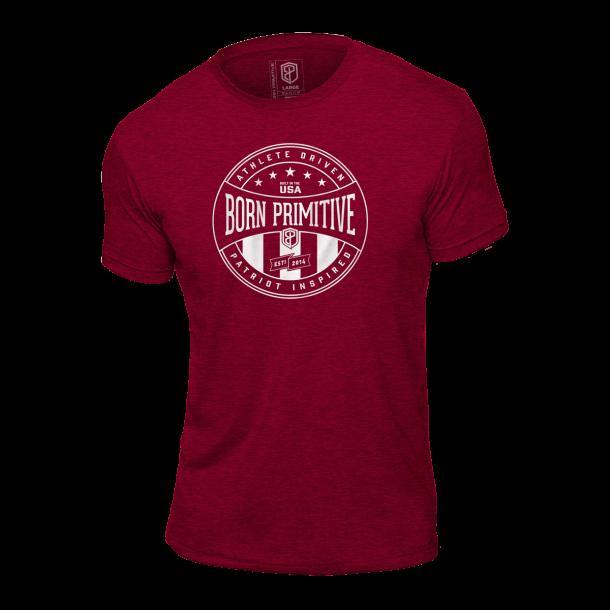 Athlete Driven T-Shirt (Heather Maroon)
