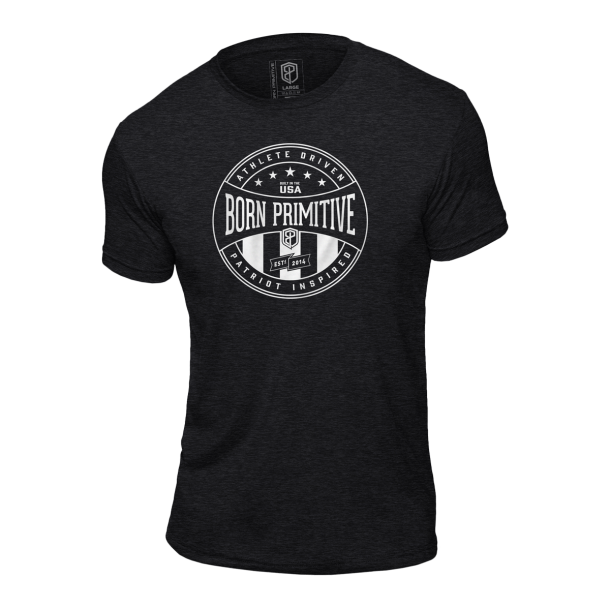 Athlete Driven T-Shirt (Heather Charcoal)
