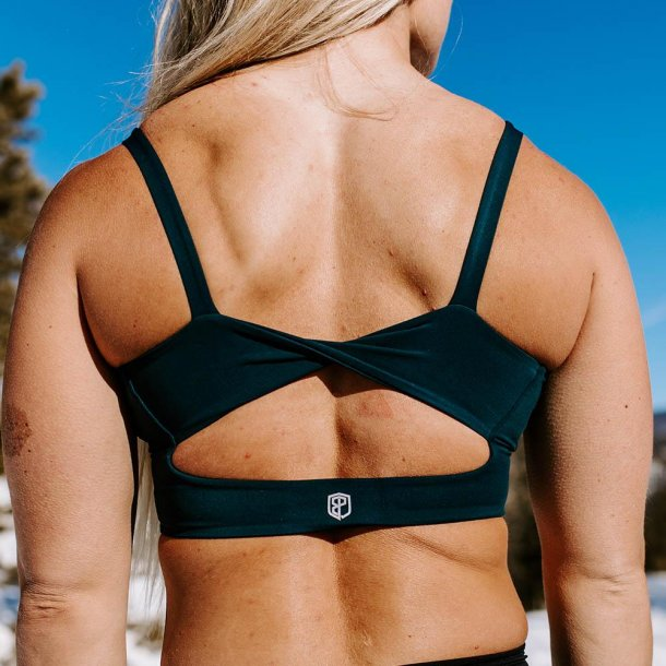 Your Go To Sports Bra (Deep Teal)