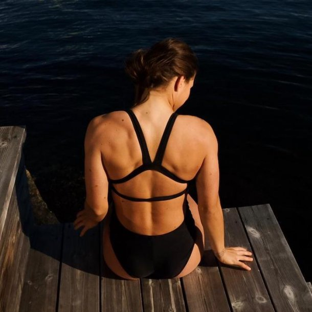 FiT Swimwear Kylie Elite One Piece - Black