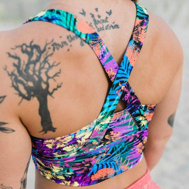 Intensity Sports Bra (Technicolor Jungle)