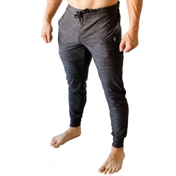Male Rest Day Athleisure Joggers (Heather Black)