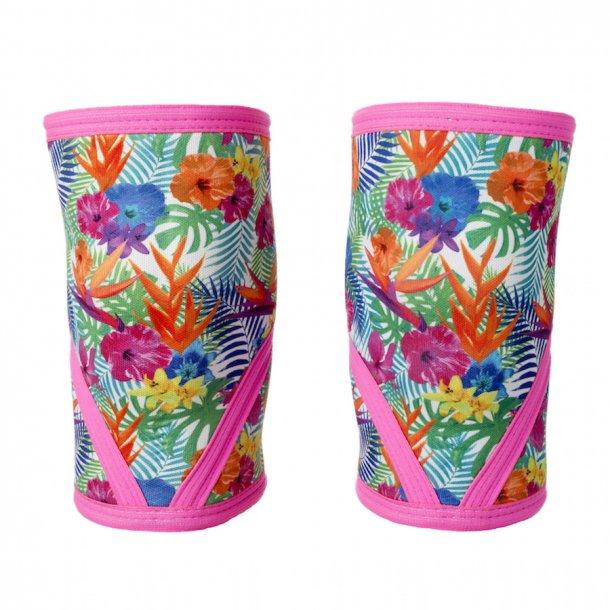 Unbroken Designs - Paradise Pink Knee Sleeves
