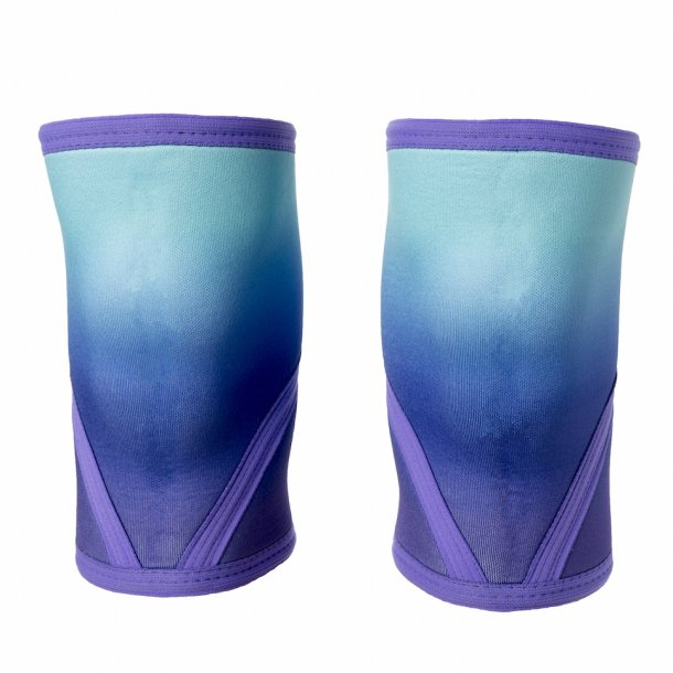 Unbroken Designs - Purple Ombre Knee Sleeves