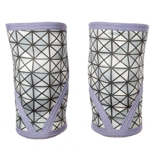 Unbroken Designs - Silver Tron Knee Sleeves