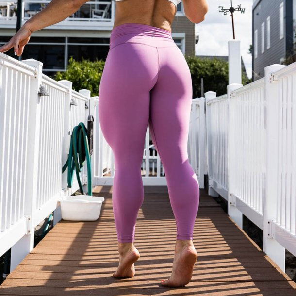 Your Go To Leggings (Mauve)