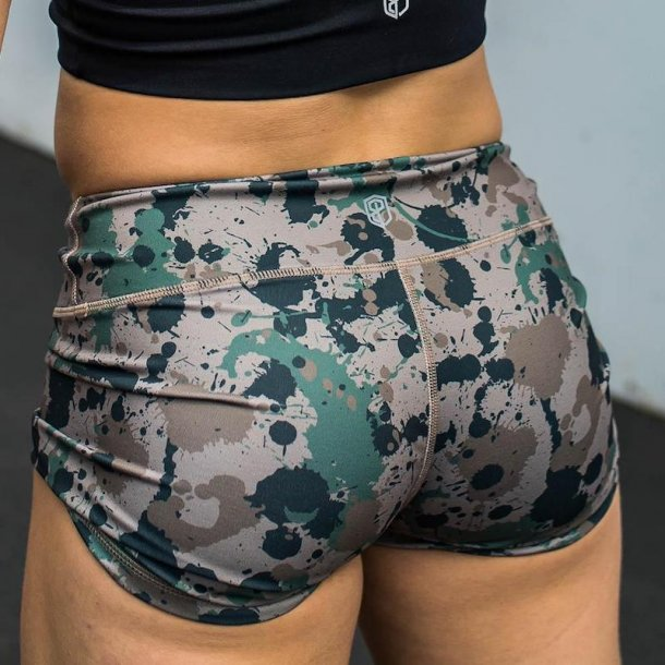 Double Take Booty Shorts (Not Fatigued)