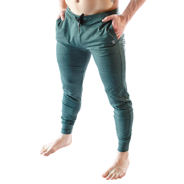 Male Rest Day Athleisure Joggers (Evergreen)