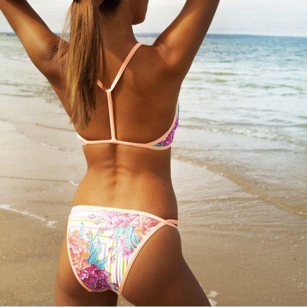 FiT Swimwear Race Me Two Piece - Peony Candy