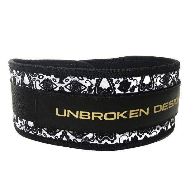 Unbroken Designs - Dia De Los Muertos Velcro Weight Belt
