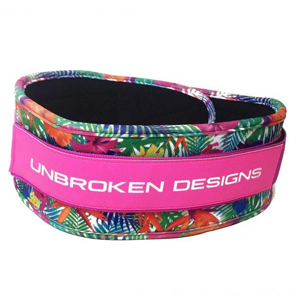 Unbroken Designs - Paradise Pink Velcro Weight Belt