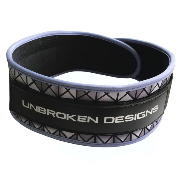 Unbroken Designs - Silver Tron Velcro Weight Belt