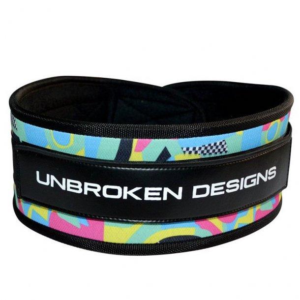 Unbroken Designs - Swirls For Girls Weight Belt