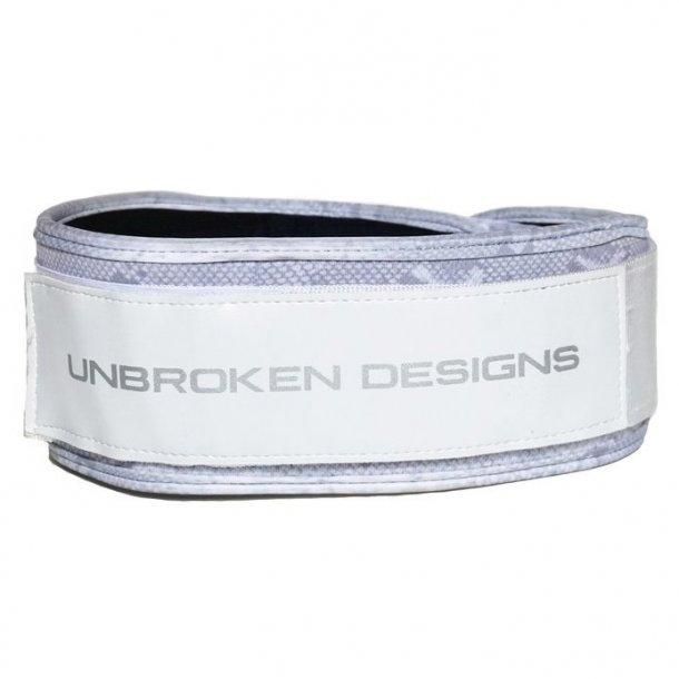 Unbroken Designs - White Snake Weight Belt