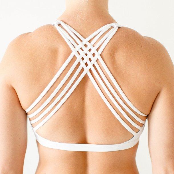 Vitality Sports Bra (White)