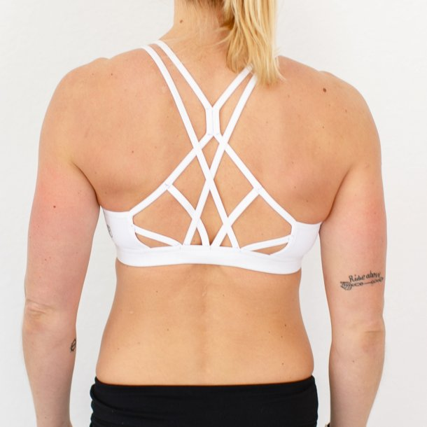 Warrior Sports Bra (White)