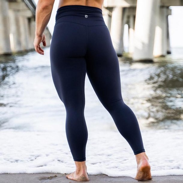 Your Go To Leggings (Navy Blue)