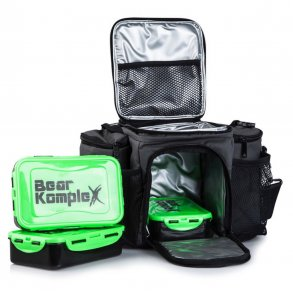 3578fd85c75f8 Bear KompleX Meal Prep Bag with Food Containers